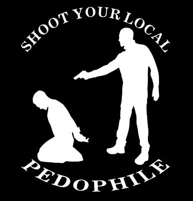Pedophile bumper sticker
